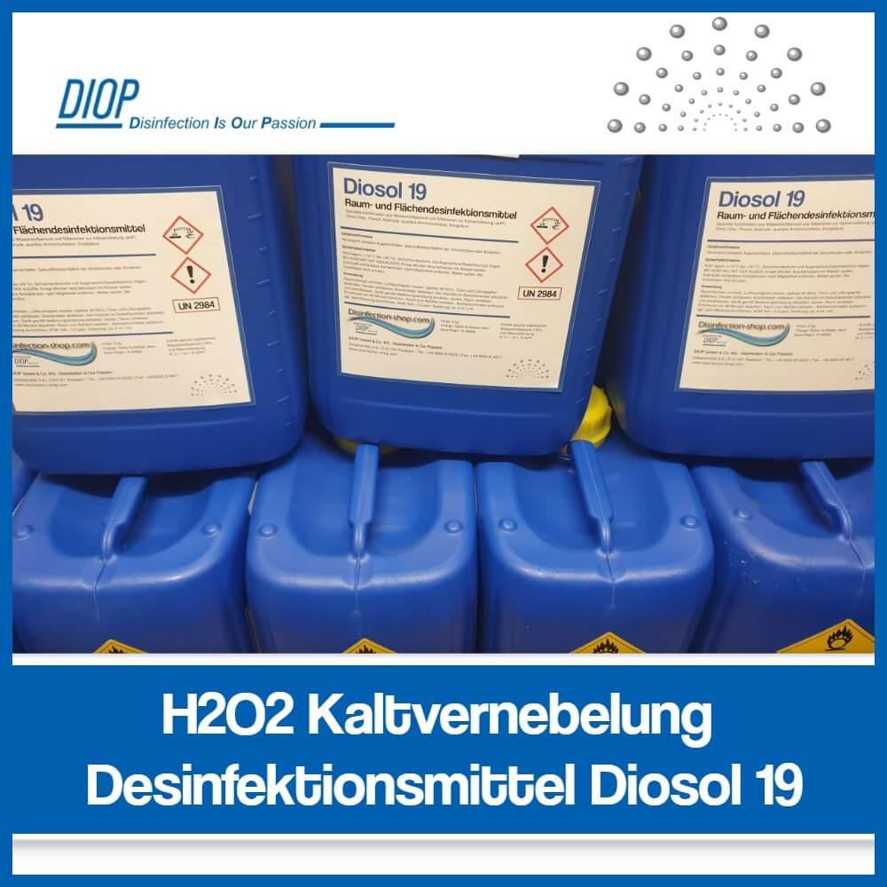 Kaltvernebelung Desinfektionsmittel