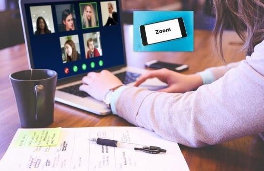 Digitale Videokonferenz