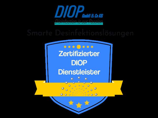 Zertifizierte Desinfektion Dienstleistung